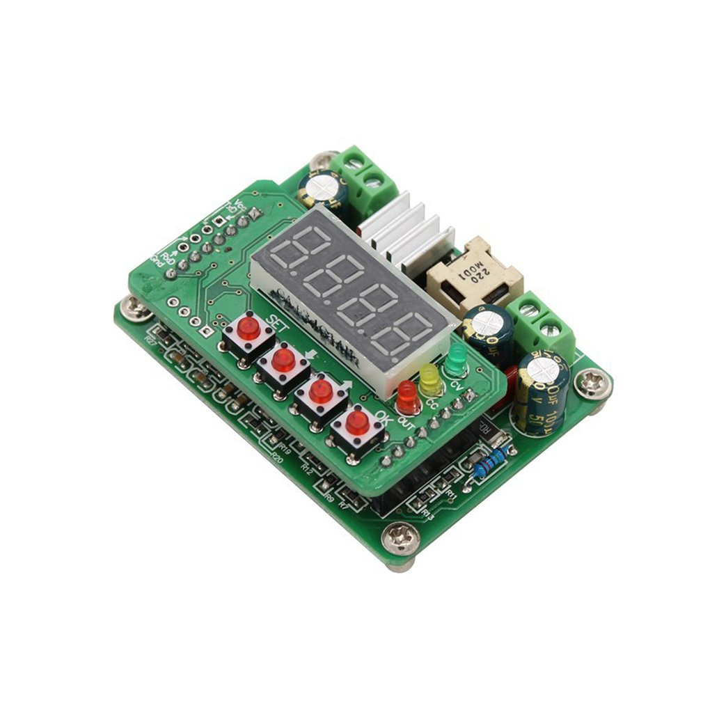 Buck 3603 Digital Display Boost Module DC Power Supply Adjustable Step Down Module Voltage Ammeter 0 36V 0 3A Charger Energy Meters     - title=