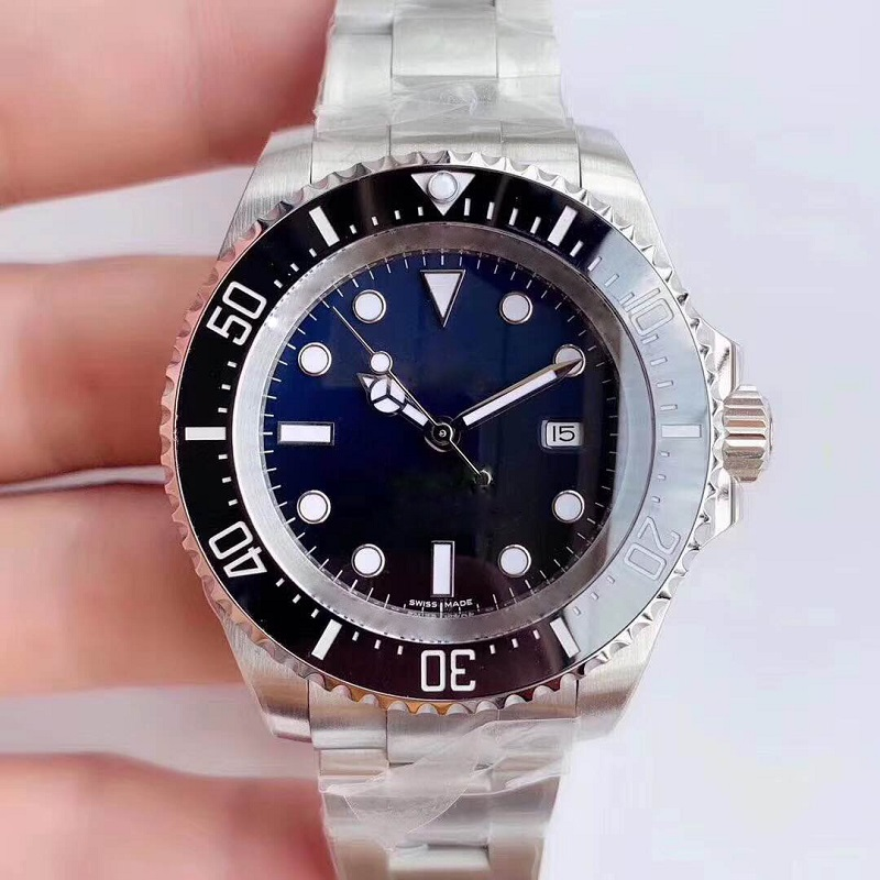 Diver Wristwatch AAA Rolexable Watch Men Automatic Mechanical Diving Blue Watches Miyota Movement Stainless Steel Sapphire 44mm