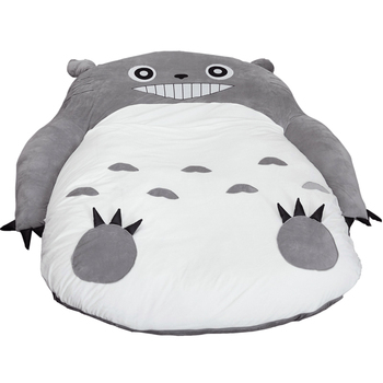 1.2x0.8m My Neighbor Totoro Tatami Sleeping Double Bed Beanbag Sofa for Audlt Warm Cartoon Totoro Tatami Sleeping Bag Mattress