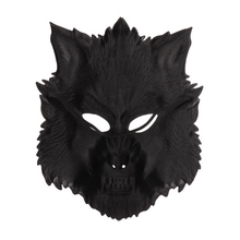 Halloween Creepy Wolf Mask Cosplay Full Face  Party Masks Horror Animals Masque DecorationCM