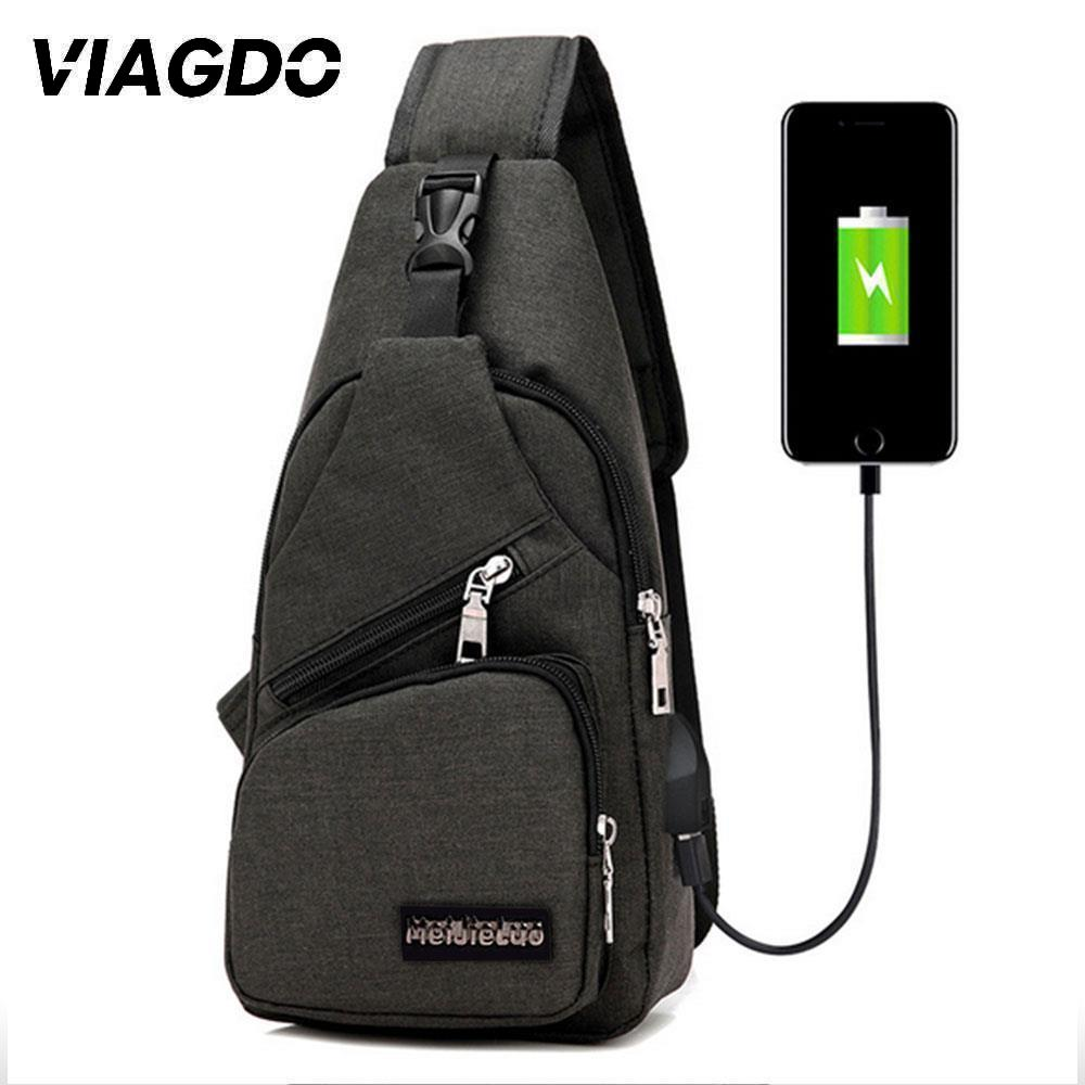 Crossbody-Bag Messengers-Bag Anti-Theft Travel Trip Summer Short Usb-Charging Male School title=