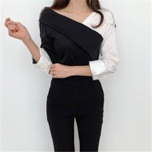 Женская Повседневная Блузка осенняя винтажная цветная блузка