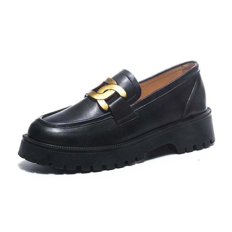 Black Platform Shoes Women's Loafers 2021 Spring Pumps Women's Spring Footwear Designer Heels Woman Sneakers Party Shoes Ladies