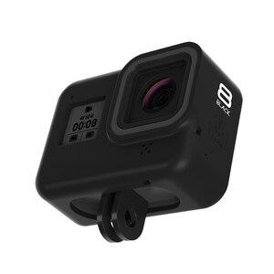 Image 2 - Futerał silikonowy do GoPro Hero 8 ochronny futerał silikonowy obudowa skóry pokrowiec do GoPro Hero 8 czarny akcesoria do kamer w ruchu