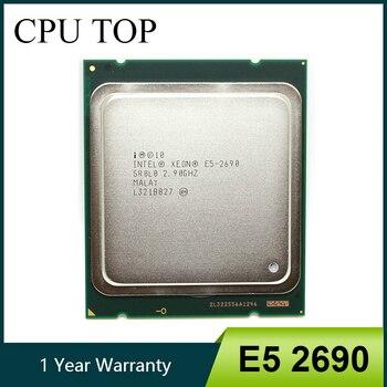 intel Xeon E5 2690 Processor 2.9GHz 20M Cache LGA 2011 SROLO C2 server CPU 1