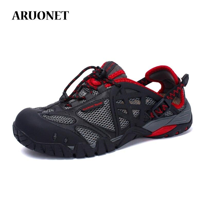 ARUONET/Летняя мужская повседневная обувь наивысшего качества; дышащая мужская обувь; большие размеры; Мужская обувь для отдыха; t; Sepatu Sneaker Pria