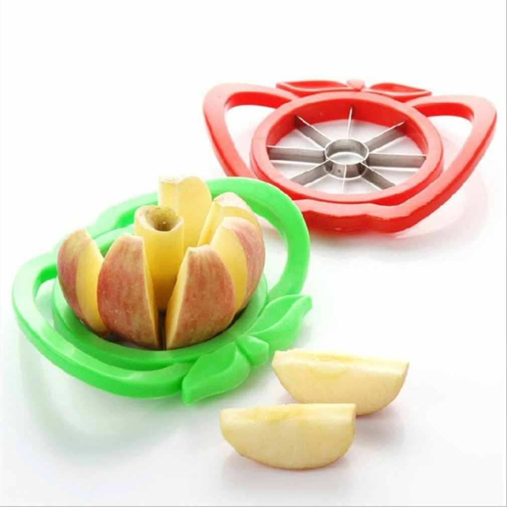 Acero inoxidable fruta pera fácil de cortar cortador divisor pelador cortado fruta multifunción ecológico fácil de limpiar