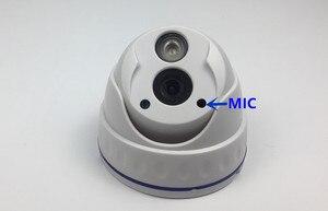 Image 1 - Integracja MIC 3516C/E 3.0MP 2.0MP Audio IP sufitowa kamera kopułkowa 2048*1536 1920*1080 podczerwień NightVision Onvif CMS XMEYE P2P