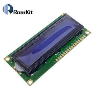 Image 3 - 5V 1602 HD44780 Module Blue Screen White Code 16x2 Character LCD Display For Arduino DIY KIT IIC/I2C Serial Interface Adapter
