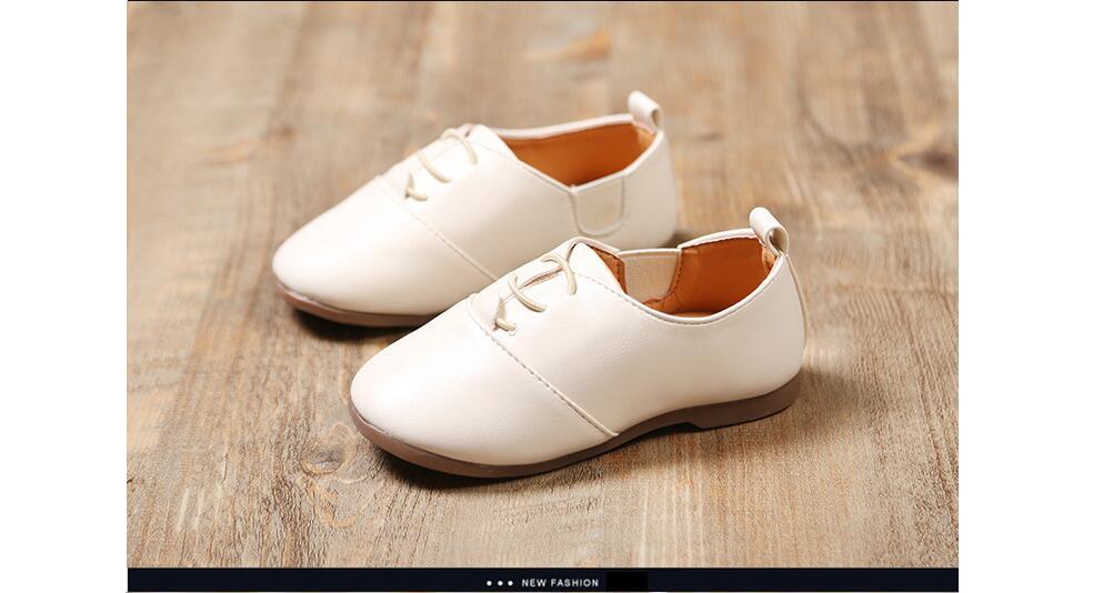 Primavera Crianças PU Sapatos de Couro Meninos