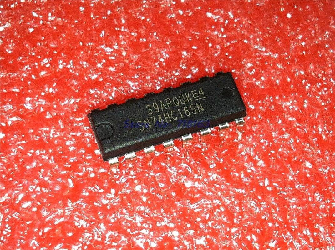 10pcs/lot SN74HC165N SN74HC165 74HC165N 74HC165 DIP-16 In Stock
