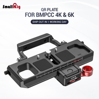 SmallRig DSLR Camera Quick Release Plate Offset Kit for BMPCC 4K & 6K & Ronin S Crane 2 Moza Air 2 Gimbal 2403