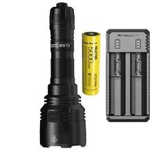 Nitecore novo p30 caça lanterna XP L hi v3 max 1000 lúmen longo lance 618 metro 21700 bateria tocha esportes ao ar livre luz