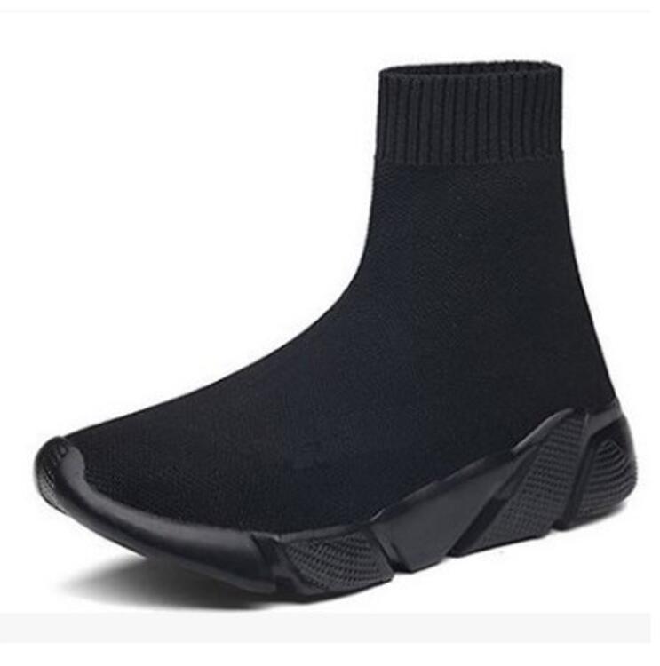 Femmes Stretch tissu marque chaussures femmes chaussettes chaussures plates plate-forme respirante chaussures maille léger loisirs femmes bottines 2019