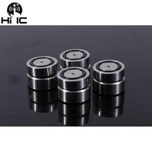 Image 2 - AMPLIFICADOR DE Audio HIFI de acero inoxidable almohadilla de pie antigolpes, almohadillas para los pies, soportes de absorción de vibración, Base de uñas