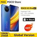 Глобальная версия POCO X3 Pro 128 ГБ/256 ГБ Snapdragon 860 смартфон NFC 6,67» 120 Гц DotDisplay 5160 мА/ч, 33 Вт зарядка Quad AI Камера