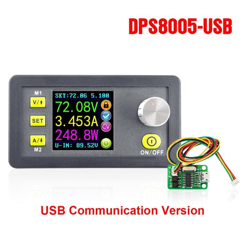 Купить dps8005 жк цифровой программируемый модуль понижающего питания