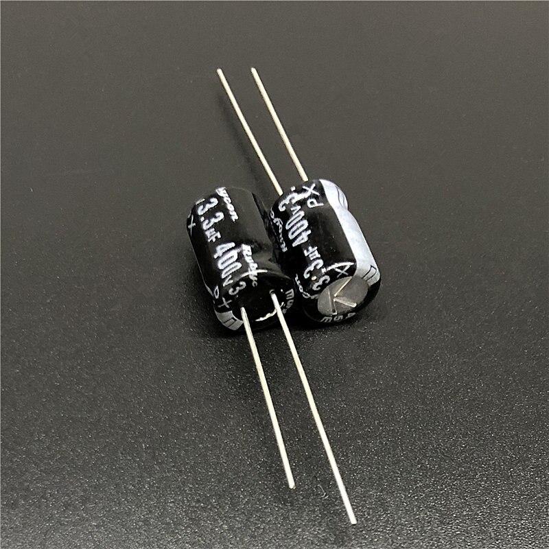 10pcs/lot 3.3uF 400V Rubycon PX 8x12mm 400V3.3uF Good Quality Aluminum Electrolytic Capacitor