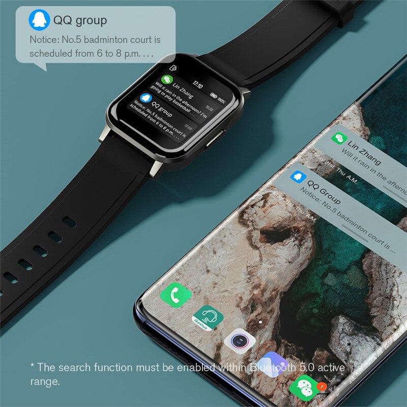 Новые модные удобные Смарт-часы Haylou LS02, водонепроницаемость IP68, 12 спортивных режимов, напоминание о звонках, умный Браслет Bluetooth 5,0 2