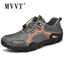 Antumn & Winter Mens Hiking Shoes Waterproof Outdoor Sneakers Men Trekking Shoes 3 Style Sports Shoes Large Size