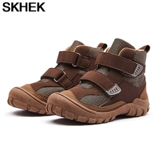 SKHEK Children Martin Boots Artificial leather shoes girls Fall New boys kids boots Keep Warm Winter Shoes Snowfield Boots cheap Unisex Rubber CN(Origin) 13-24m 25-36m 3-6y Platform Riding Equestrian Flat with Cotton Fabric Round Toe Hook Loop Fits true to size take your normal size