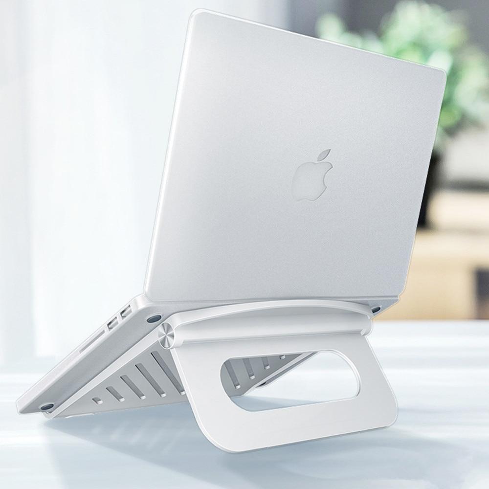 Регулируемая подставка для ноутбука, эргономичный портативный держатель из АБС-пластика для Macbook Pro Chromebook, подходит для ноутбуков от 10 до 17 д...