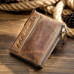 Men Wallet Genuine Leather Wal