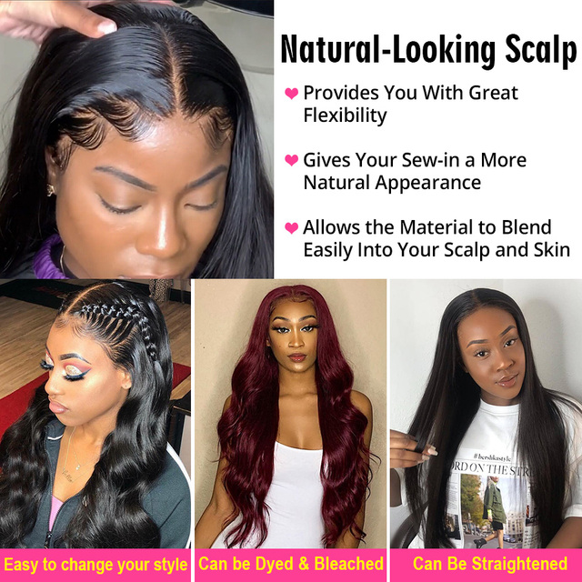 Lace Front Human Hair Wigs Brazilian Body Wave Lace Front Wig Pre Plucked Brazillian lace frontal For Black Women 5