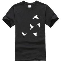 Talent Vögel T-Shirt schwarz