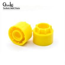 10 Stks/partij High-Tech Gears Parts Rijden Ring Extension 8 Tand 35186 Moc Bouwsteen Bricks Monteren Deeltjes Diy speelgoed