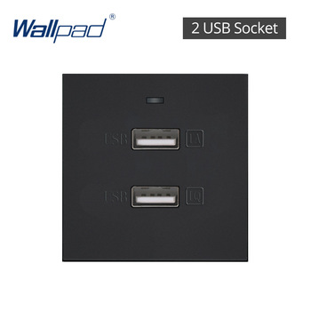 S6 Series Glass Switch and Socket DIY Combination Wall Button Light witch Power Outlet Socket Crystal Black Glass DIY Wallpad 26