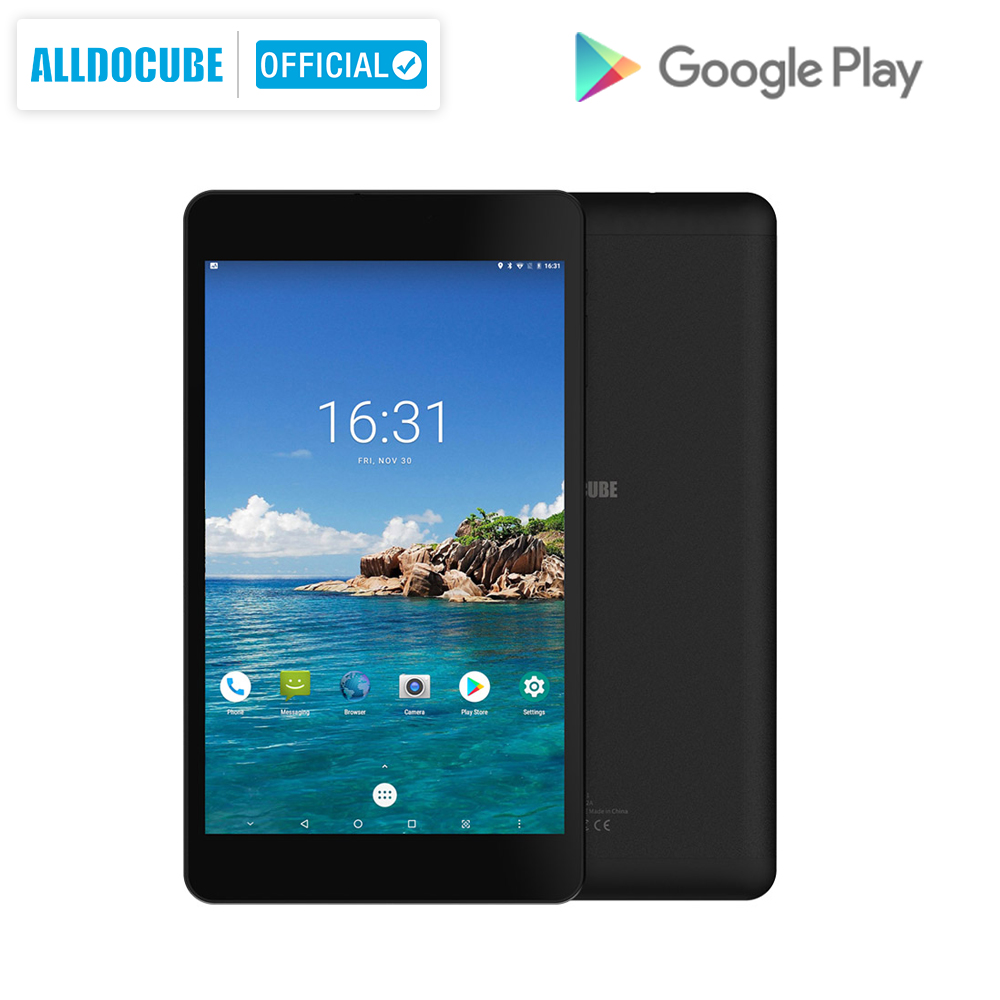 Alldocube M8 MTK X27 10 Core 8 Inch 4G LTE Wi-Fi Tablet Android 8.0 Oreo Ram 3GB ROM 32GB 1920*1200 IPS Dual SIM Ultra Slim