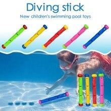1 Juego de anillos de buceo para natación, piscina, juguete para lanzar, juego de buceo, accesorios de buceo para verano bajo el agua, regalo para niños