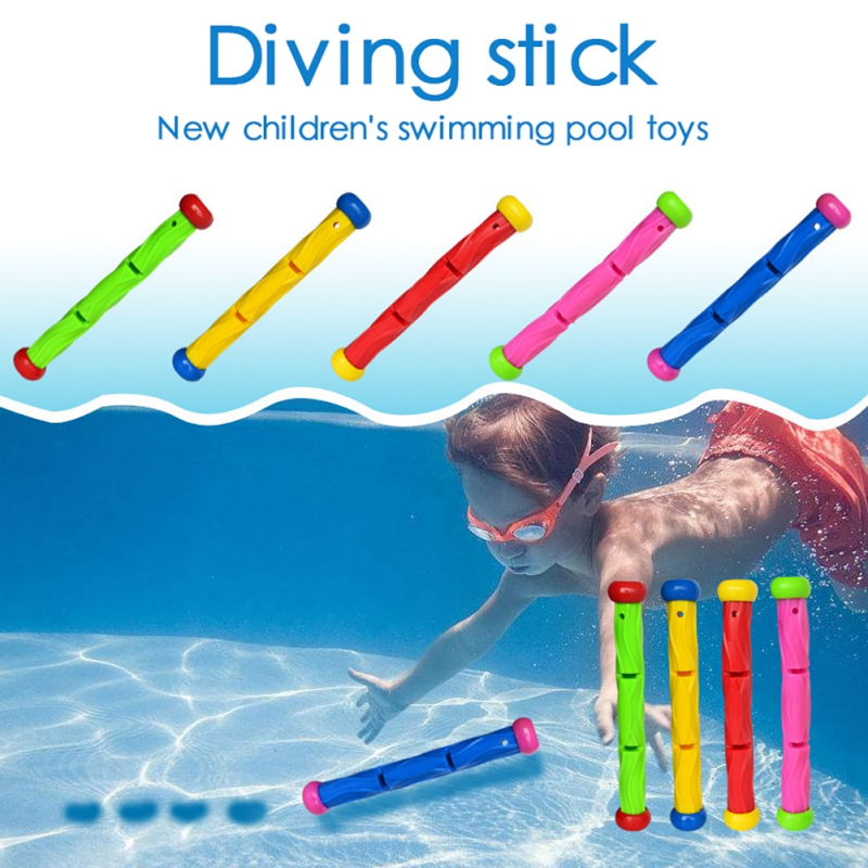 Dive Swim Rings Swimming Pool Throwing Toy Diving Game Toys Set Underwater Summer Dive Accessories Gift For Kids 1 Set