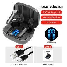 Tws bluetooth 5.0 fones de ouvido sem fio alta fidelidade sons handsfree fones estéreo fone sem fio