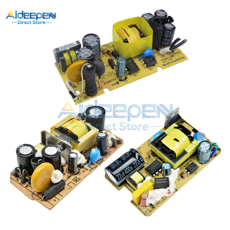 AC-DC Switching <font><b>Power</b></font> <font><b>Supply</b></font> Module <font><b>5V</b></font> 12V <font><b>1A</b></font> 2A 2.5A With Overvoltage Overcurrent Short Circuit Protection <font><b>Power</b></font> <font><b>Supply</b></font> Board image
