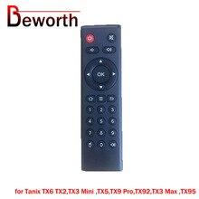 Tanix TX6 Android TV kutusu için uzaktan kumanda TX2,TX3 Mini ,TX5,TX9 Pro,TX92,TX3 Max ,TX95 yedek denetleyici