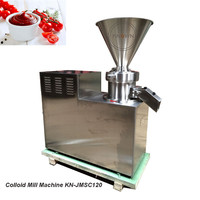 Automatic Crushing Machine Grinding Raw Material Peanut Sesame Coconut Mustard Paste Jam Butter Maker Colloid Mill Machine