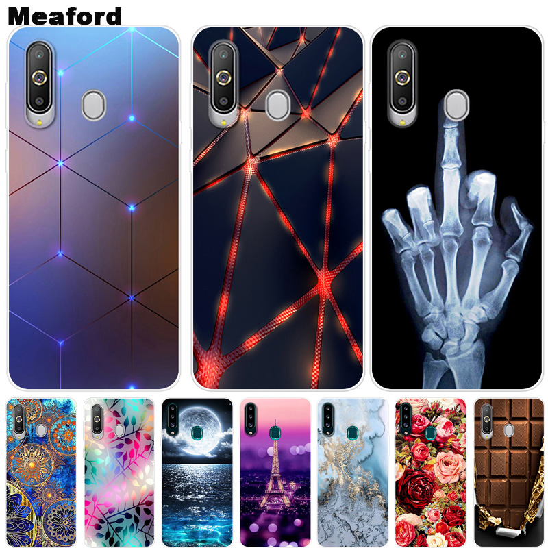 For Samsung Galaxy A9 Pro 2019 <font><b>Case</b></font> Phone Cover Soft Silicone Printing Back <font><b>Case</b></font> For Samsung A9 Pro 2019 Caps G887N G887N <font><b>G887</b></font> image