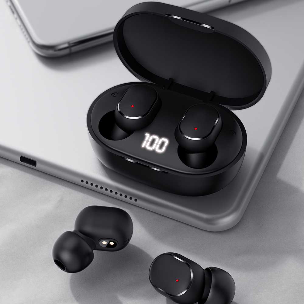 M3 Bluetooth Earphones 5.0 Wireless Earbuds TWS Earphone Noise Cancelling Mic bluetooth 5.0 headset  for iPhone Xiaomi Huawei 3