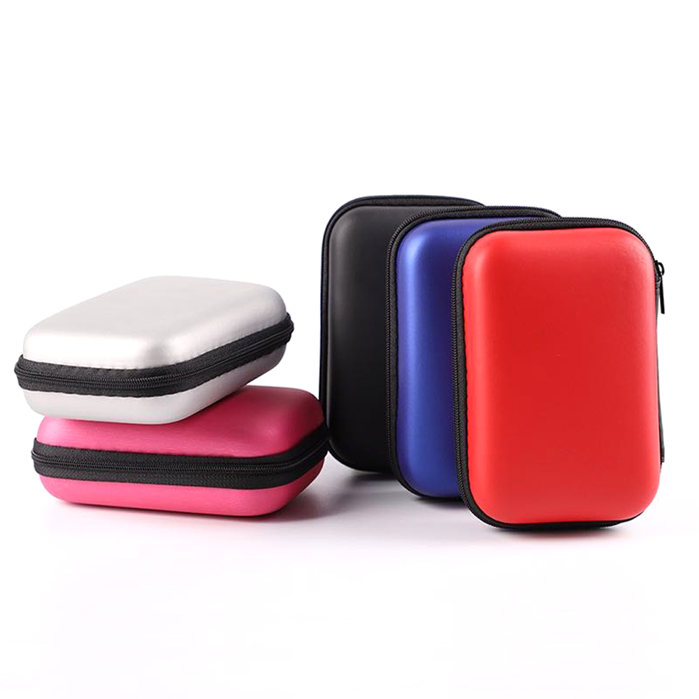 NEW 2.5 Hard Disk Case Portable HDD Protection Bag For External 2.5 Inch Hard Drive/Earphone/U Disk Hard Disk Drive Case