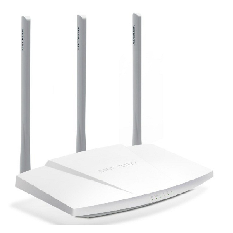Genuine Product Licensed Mercury MW310R 300M Wireless Router WiFi Ultra-strength Signal Three Antenna