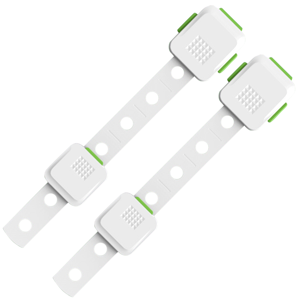 2pcs/set Drawer Cupboard Child Safety Bedroom Cabinet Locks Strap Closet Security Refrigerator Multifunction Baby Proofing Home