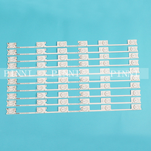 40 PCS/Lot 100% New LED Strip Bar Backlight for KONKA KDL48JT618A KDL48SS618U 35018539 35018540 6 LED light (6 V) 442mm