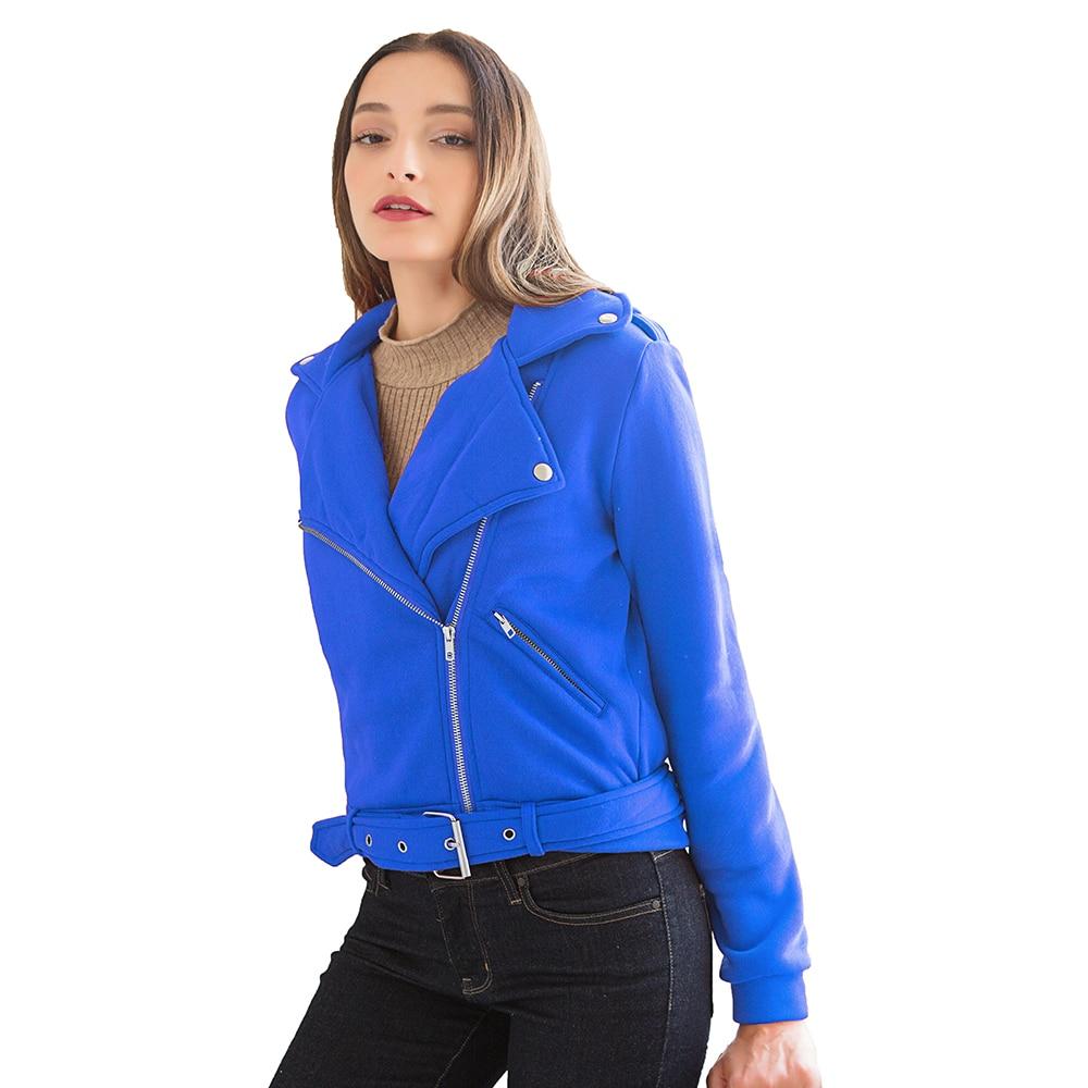 Women Hoodies Autumn Casual Turn Down Collar Belt Zippe Outwear Female Plus Size 3xl in Hoodies amp Sweatshirts from Women 39 s Clothing