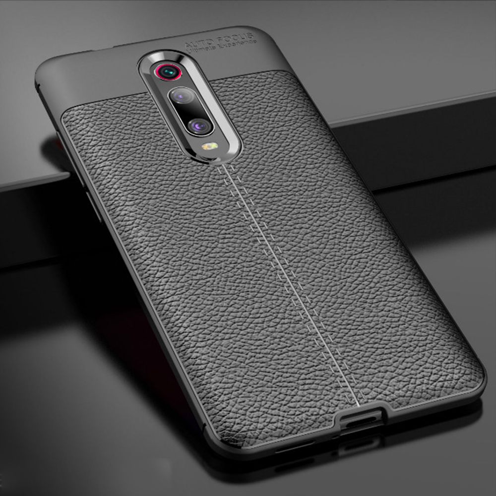 For Xiaomi Mi 9T 9 T Pro Case Leather Style Cover Durable TPU Phone Case For Redmi K 20 K20 Pro Cover 360 Full Protection Bumper(China)