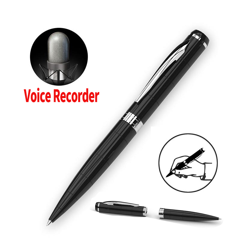 8GB Digital Voice Recorder Pen USB Rechargeable Smart Sound Recorders Noise Reduction Real Pencil Can Write for Business Meeting