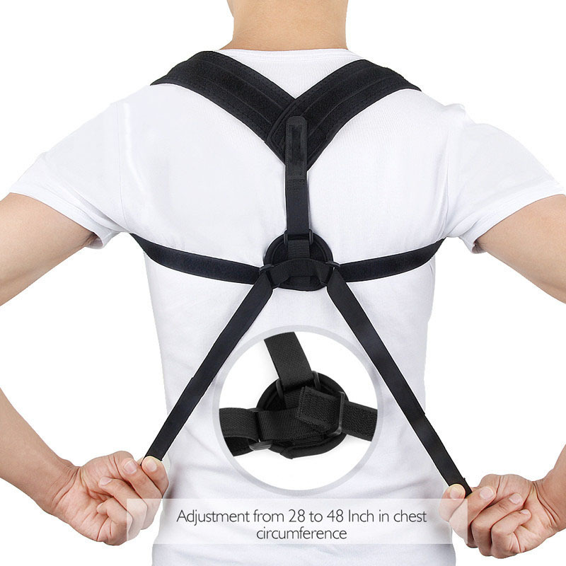 New Style Orthotics Band Back Poisture Brace Belt Can Effectively Prevent Hunched Over Sitting  Not Improve Fatigue Shoulder Shi