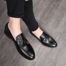 Men Office Casual Shoes Men Formal Classic Tassel Slip on Loafers Shoes Man Dress Shoes Business Party Shoes Zapatos De Hombre