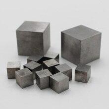 Чистый вольфрамовый куб 99.99